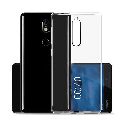 AU4.99 • Buy Slim Soft Clear Transparent Gel Case Cover For Nokia 6.1 6 2018 7 Plus 8 Sirocco