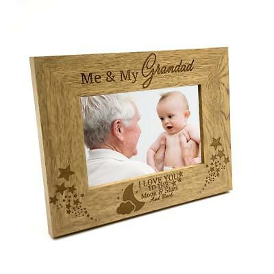 £11.98 • Buy Me And My Grandad Love You To The Moon Photo Frame Gift FW149