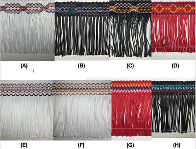£11.54 • Buy 4  Chainette Fringe Trim - 8 Continuous Yards - Many Styles & Colors Available!