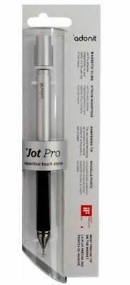 £13.95 • Buy Adonit Jot Pro Fine Point Precision Tip Stylus For IPad IOS Android GunMetal MP