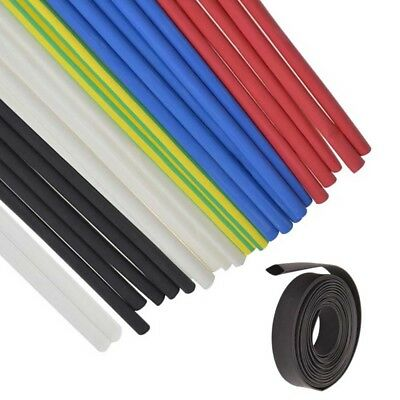 Heat Shrink 2:1 Tubing Electrical Sleeving Cable Wire Heatshrink Tube All Colour • 1.65£
