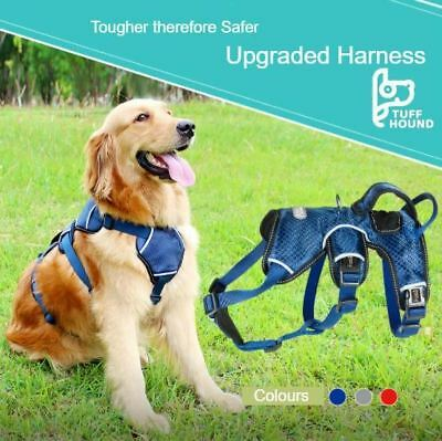 AU49.32 • Buy K9 Dog Harness European Quality Heavy Duty Large By Tuff Hound (Upgraded)