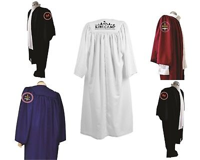 £199.99 • Buy Set Of 10 Personalised Choir Robes Embroidered Graduation Gowns  Custom Logo