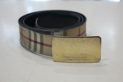 Burberry Long Belt Size 40/100.Made In Italy • 135.59£