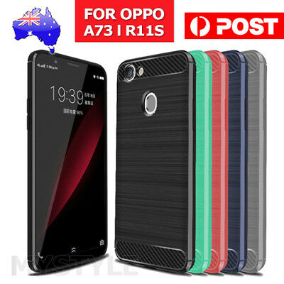 AU5.85 • Buy For OPPO A73 R11S Plus Shockproof Protective Shell TPU Cover Anti Knock Case OZ