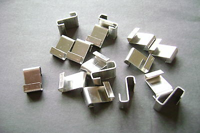 GREENHOUSE Z CLIPS ALUMINUM CHOOSE FROM 20 To 500 SEE ALSO LINKS TO ALL W + Z  • 2.99£