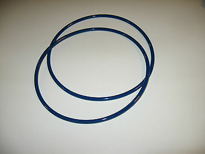 £14.51 • Buy 2 Blue Max 1/4  Round Drive Belts For Nutool 0134a Band Saw Made In Usa