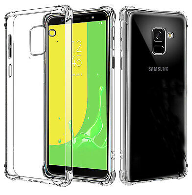 AU7.99 • Buy Shockproof Heavy Duty Soft Clear Case Cover For Samsung Galaxy J8 A8 A8+ 2018