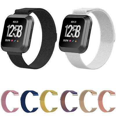 $ CDN15.91 • Buy Milanese Loop Bracelet For Fitbit Versa Sports Band Magnetic Closure Mesh Strap