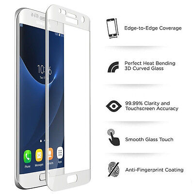 $ CDN10.99 • Buy For Samsung Galaxy S6 Edge Plus Full Coverage 9H Tempered Glass Screen Protector