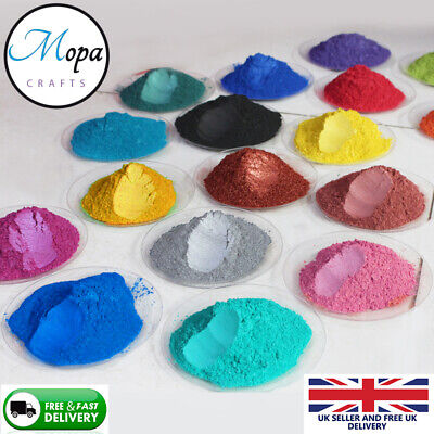 £2.99 • Buy Cosmetic Mica Powder Pigment Soap Bath Bombs  Nail Art Additive Soy Wax Candle
