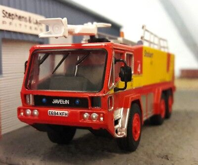 $33.23 • Buy Gloster Saro Javelin Airport Airfield Crash Rescue Fire Engine Model 1:76 OO/00