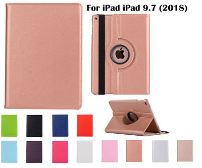 AU9.99 • Buy  For IPad 9.7  [6th Generation ](2018) Screen Film/ Rotate PU Leather Case Cover
