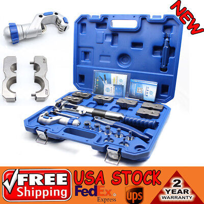WK-400 Universal Hydraulic Expander & Flaring Tool Pipe Fuel Line Kit New • 337.18$