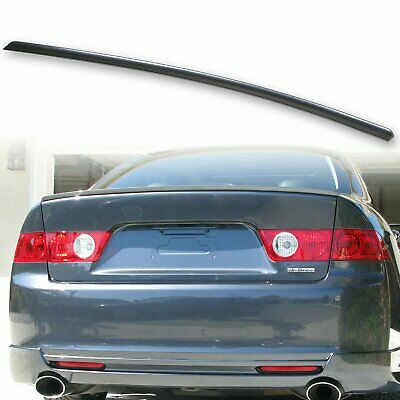 $67.19 • Buy Fyralip Painted Rear Trunk Spoiler 04-08 For Acura TSX Graphite Pearl NH658P
