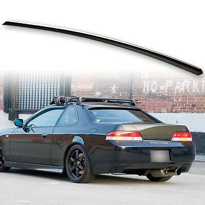 $ CDN107.15 • Buy Fyralip Trunk Lip Spoiler For Honda Prelude Painted Nighthawk Black B92P