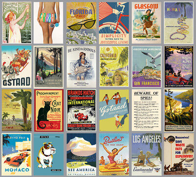 £7.99 • Buy Vintage Travel Tourism Railway  Advertising Posters Prints Poster  A4 A3