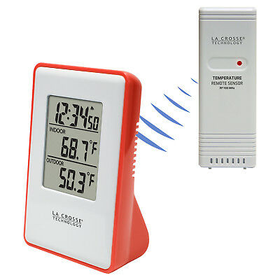 $19.95 • Buy 308-1910R La Crosse Technology Wireless Thermometer Weather Station TX191 - Red