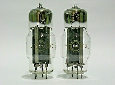 $ CDN21.47 • Buy 4x 6N2P-EV (6H2П-EB) NEW Voskhod TRIPLE MICA 1971's Double Triode Tubes