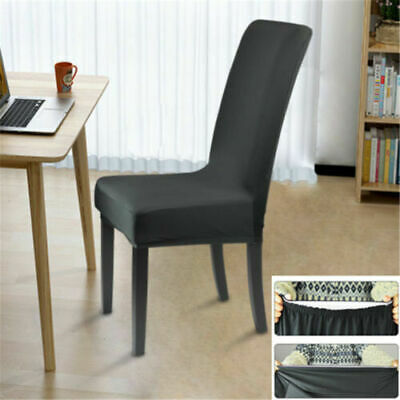 AU21.53 • Buy Easy Stretch Dining Chair Cover Washable Removable Slipcover Dinning Seat Covers