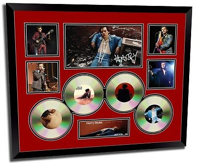 AU94.99 • Buy Harry Styles Live On Tour Signed Limited Edition Framed Memorabilia