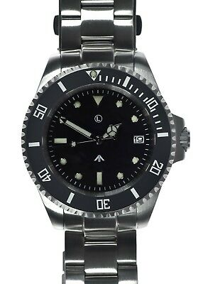 $ CDN492.44 • Buy MWC 24 Jewel | 300m | Automatic Military Divers Watch | Steel Bracelet | Sterile