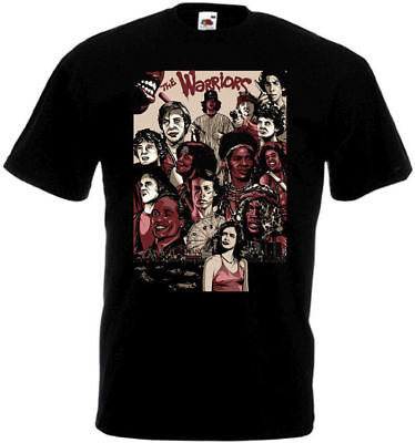 The Warriors V7 T Shirt Black Movie Poster All Sizes S-5XL • 13.80£