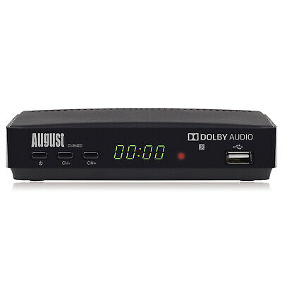 Freeview HD Recorder Box - August DVB400 - Watch And Record 1080p Freeview TV • 19.95£