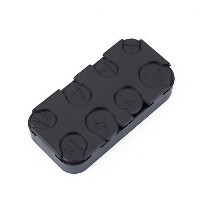 $2.99 • Buy Portable Russian Coin Dispenser Plastic Coin Storage Box Car Coin Change Holder