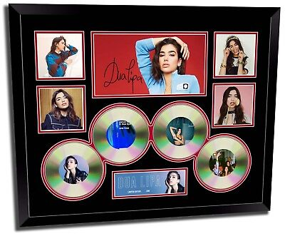 AU94.99 • Buy Dua Lipa Signed Limited Edition Framed Memorabilia