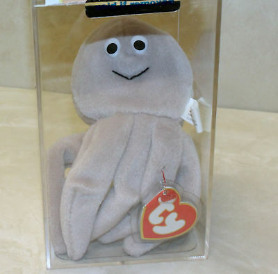 decd76adfbb Authenticated Inky Tan (Octopus) MWMT MQ 3rd 1st Gen Ty Beanie Baby (