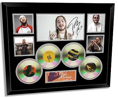 AU94.99 • Buy Post Malone Signed Limited Edition Framed Memorabilia