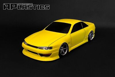 RC Body Car Drift Touring 1:10 Nissan Silvia S14 Kouki Style APlastics New Shell • 27.24£