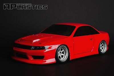 RC Body Car Drift Touring 1:10 Nissan Silvia S14 Odyvia Style APlastics New • 27.24£