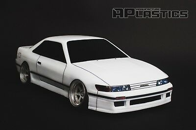 RC Body Car Drift Touring 1:10 Nissan Silvia S13 Coupe Style APlastics New Shell • 27.24£
