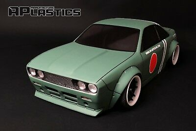 RC Body Car Drift 1:10 Nissan S14 Boss 510 Bluebird Style APlastics New Shell • 27.24£