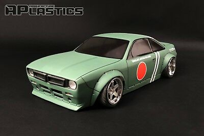 RC Body Car Drift 1:10 Nissan S14 Boss Sunny Nose Style APlastics New Shell • 27.24£