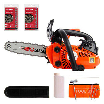 "View Details 26cc 10"" Petrol Top Handle Topping Chainsaw - Free Bar Cover & More • 109.71£"