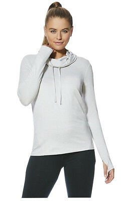 £5.99 • Buy Ladies F+f Tesco Sports Lounge Top Hoodie Cowl Neck Active Thin Knit Stores Gym