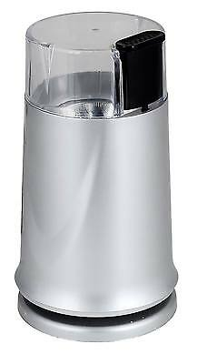 £10.99 • Buy 150W Silver Coffee Grinder Electric Machine For Whole Bean Nut Spice Twin Blade