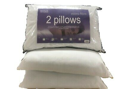 ROMA Quilted Pocket Sprung Pillow***** Springs Bounce Back Support***** • 15.99£