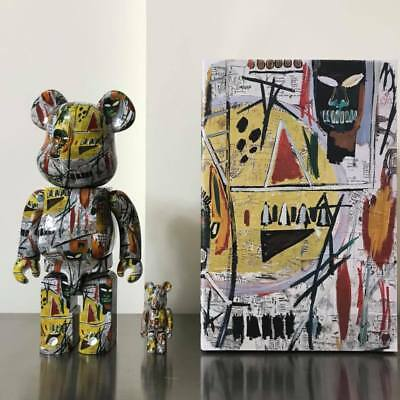 $1500 • Buy Jean-michel Basquiat Be@rbrick 400% + 100% Bearbrick