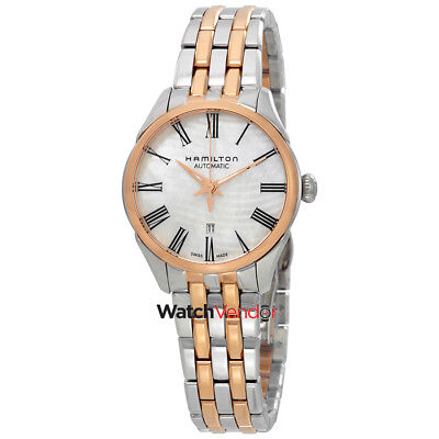 $ CDN895.99 • Buy Hamilton Jazzmaster Automatic Mother Of Pearl Dial Ladies Watch H42225191