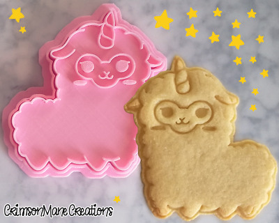 AU10 • Buy Unicorn Llama Llamacorn Cookie Cutter Kawaii Baking Tool Ceramics Pottery