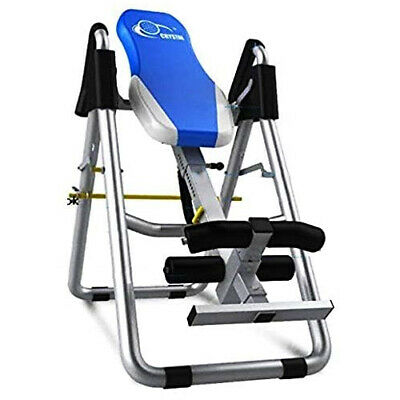 £109.95 • Buy Pro Gravity Inversion Table Foldable Back Neck Pain Exercise Therapy Bench