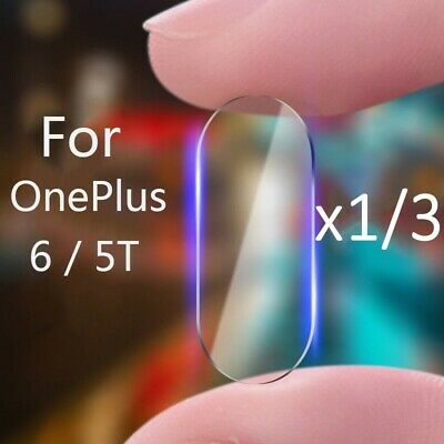 AU3.20 • Buy  For OnePlus 6 5T  2.5D Back Camera Lens Tempered Glass Screen Protector Film
