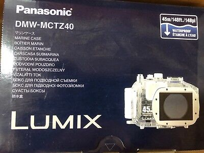 AU280 • Buy Panasonic DMW-MCTZ40 Waterproof Marine Case 40m Lumix Camera Housing