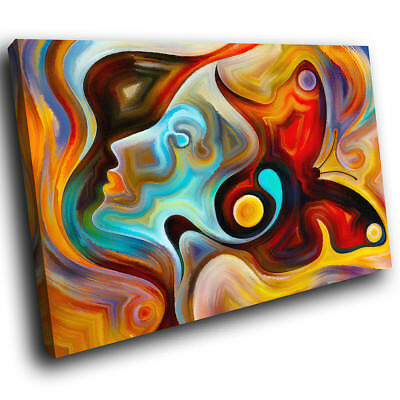 AB567 Colourful Butterfly Modern Abstract Canvas Wall Art Large Picture Prints • 29.99£