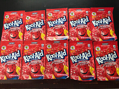 Kool-Aid Drink Mix Cherry 10 Count  • 6.13£