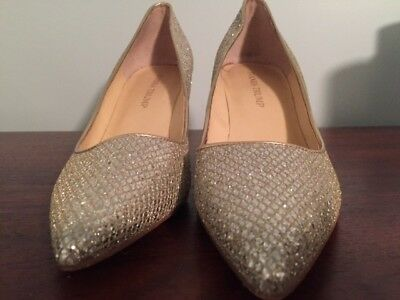 $ CDN37.49 • Buy Ivanka Trump Size 9 Glittery Silver And Gold Shoes